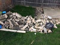 Large pile of hardcore