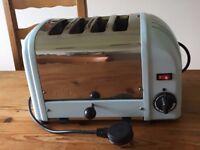 Toaster DUALIT Classic 4 Slot Vario Glacier Blue Light Blue RRP £200