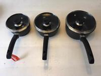 Berndes Cast-Aluminium Deep Saucepan Set - BNIB