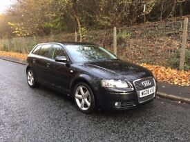 Audi A3 TDI Sport Sportback Diesel -- 12 Months MOT -- Full Service History -- Immaculate Condition