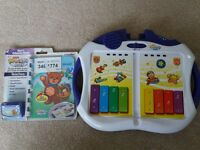 fisher price power touch baby and book