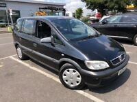 2004 VAUXHALL ZAFIRA 1.6L PETROL 7 SEATER EXCELLENT CONDITION FULL SERVICE HISTORY