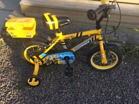 Selling this kids bike as my grandson has grown out of it