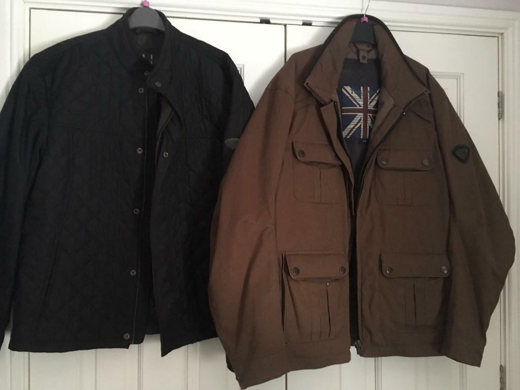 Brand new men's Triumph motorbike jacket size XXL