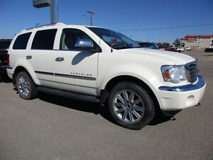 2007 Chrysler Aspen Limited / leather / sunroof / rear video