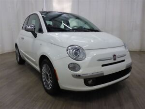 2013 Fiat 500 Lounge Leather Sunroof Bluetooth