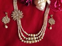 South Indian Bridal Classic Pearl Jewellery(new)