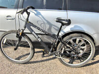 "X-RATED MOUNTAIN BIKE 18 GEARS 26"" WHEELS.FREE DELI VERY B,MOUTH POOLE LYMINGTON for sale  Barton on Sea, Hampshire"