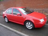 VOLKSWAGEN BORA 1.6L WITH A FULL MOT, FULL HISTORY,HPi CLEAR, TOP SPEC, CD PLAYER, ALLOYS & AIR CON