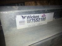 used Wickes lintels