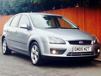 FORD FOCUS 1.6 ZETEC 2005 ONLY 71k LOW MILEAGE SERVICE HISTORY MOT CLEAN&TIDY