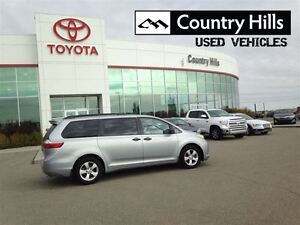 2015 Toyota Sienna 7 Passenger, FWD, Clean Car Proof