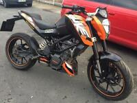2012 ktm 125 duke full mot