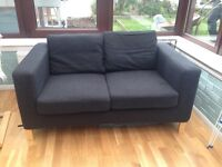 Black IKEA karlanda sofa