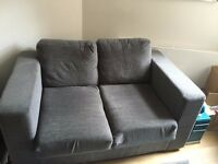 3 SEATER SOFA WITH STORAGE UNDERNEATH & 2 SEATER SOFA BED