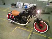 2004 Suzuki gz125 bobber rat chopper 125cc ride on cbt NEW MOT 2250