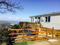 35 x 12 BK Caprice for sale at St Audries Bay Holiday Club with sea views and corner plot