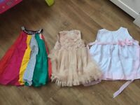 Summer clothes bundle, swimming costumes, 11 x dresses, 2 x hats