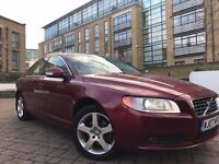 2007 **NEW SHAP**VOLVO S80 D5 SE LUX GEARTRONIC**FULL SERVICE HISTORY**HPI CLEAR**