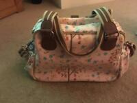 Pink Lining Changing Bag