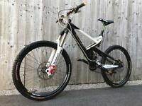 Carbon Fibre Scott Ransom 10 full Suspension Enduro/Downhill Bike, LIKE NEW, HIGH SPEC, DEORE