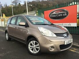 2010 10 Nissan Note 1.6 16v Acenta 5 Door Automatic Petrol Low Miles