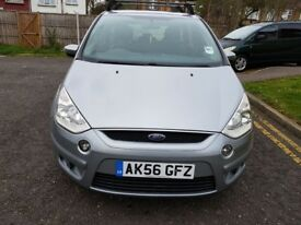 2007 Ford S-Max 2.0 TDCi Zetec 5dr Manual Diesel 7 Seater @07445775115 Last Owner 2011+2Key+Warranty