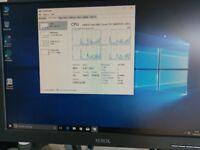 HP 8000 Elite sff tower, Intel Q8400 quad, 160gb sata, 3gb ddr3, Windows 10 Pro, Office