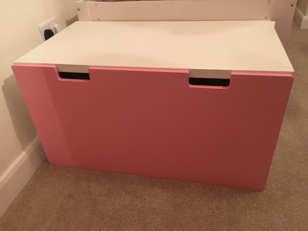 Ikea Stuva Large Drawer Pink Child's Bedroom Playroom