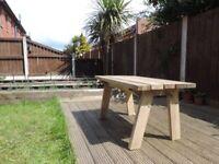 Handmade garden table (medium) / garden furniture