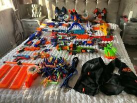 Bundle of nerf guns pluss extra stuff