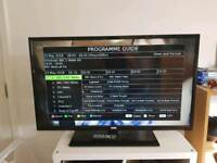 Seiki 40 inch TV with HDMI cable