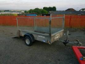 Ifor williams p6e trailer with mesh greedy sides