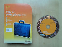 MICROSOFT OFFICE PROFESSIONAL 2010 SOFTWARE SUITE GENUINE INCLUDING KEY