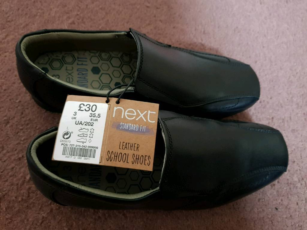 Brand new next boys school shoes