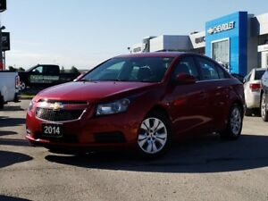 2014 Chevrolet Cruze 1LT 1LT, REAR CAM, ONE OWNER, NO ACCIDENTS