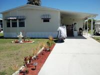 Mobile home with lot, REDUCED PRICE