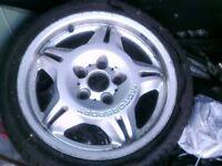 BMW E36 FITMENT 1 RIM,,M SPORT, 17 INCH