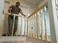 Handymen services, tiling and plumbing, flooring and furniture fitting, painting and decorating