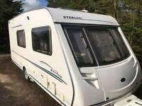 Swift Sterling Eccles Moonstone Caravan