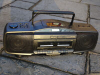 JVC CD Portable System Model RC-X610