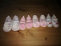 Selection of baby girl clothes and shoes size 3-6