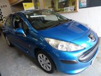 2007 PEUGEOT 207 1.4 S, 3 DOOR, HATCHBACK, LOW MILES 63K, VERY CLEAN CAR, DRIVES LIKE NEW, HPI CLEAR