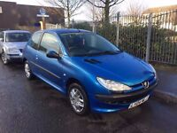 2004 1.4 Peugeot 206 AUTOMATIC - 65,000 Low Mileage and Long MOT!