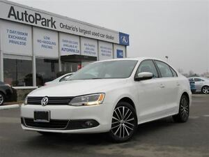 2013 Volkswagen Jetta SEL| Leather| Sunroof| Alloys