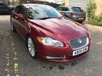 2008 Jaguar XF 2.7 TD Premium Luxury 4dr Cream+Leather+Seat+Rear+Camera @07445775115