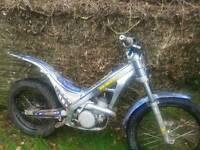 Sherco 2.9 04 series trials bike