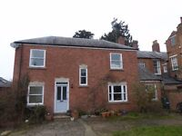 RENTAL: Large 3 bed property, 3 reception rooms & office available in village location & parking.