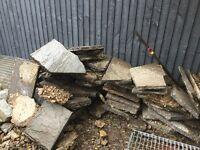 Broken slabs - free