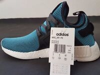Adidas nmd blue mens trainers (Size 9)